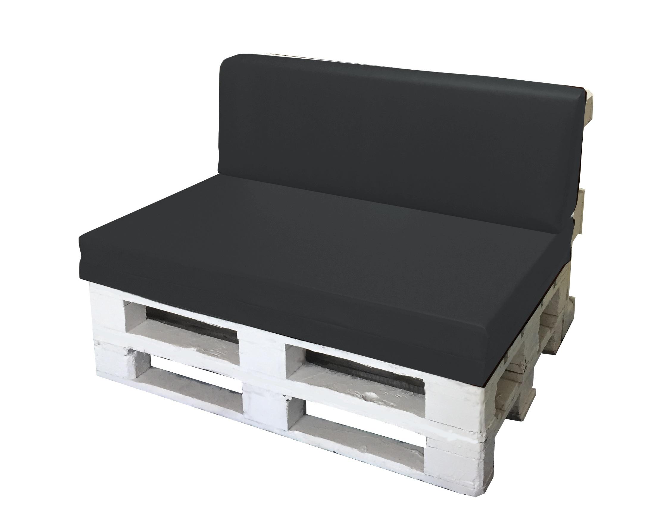 Set cuscino per bancale seduta schienale divano pallet ecopelle vari colori ebay - Pulizia divano ecopelle ...
