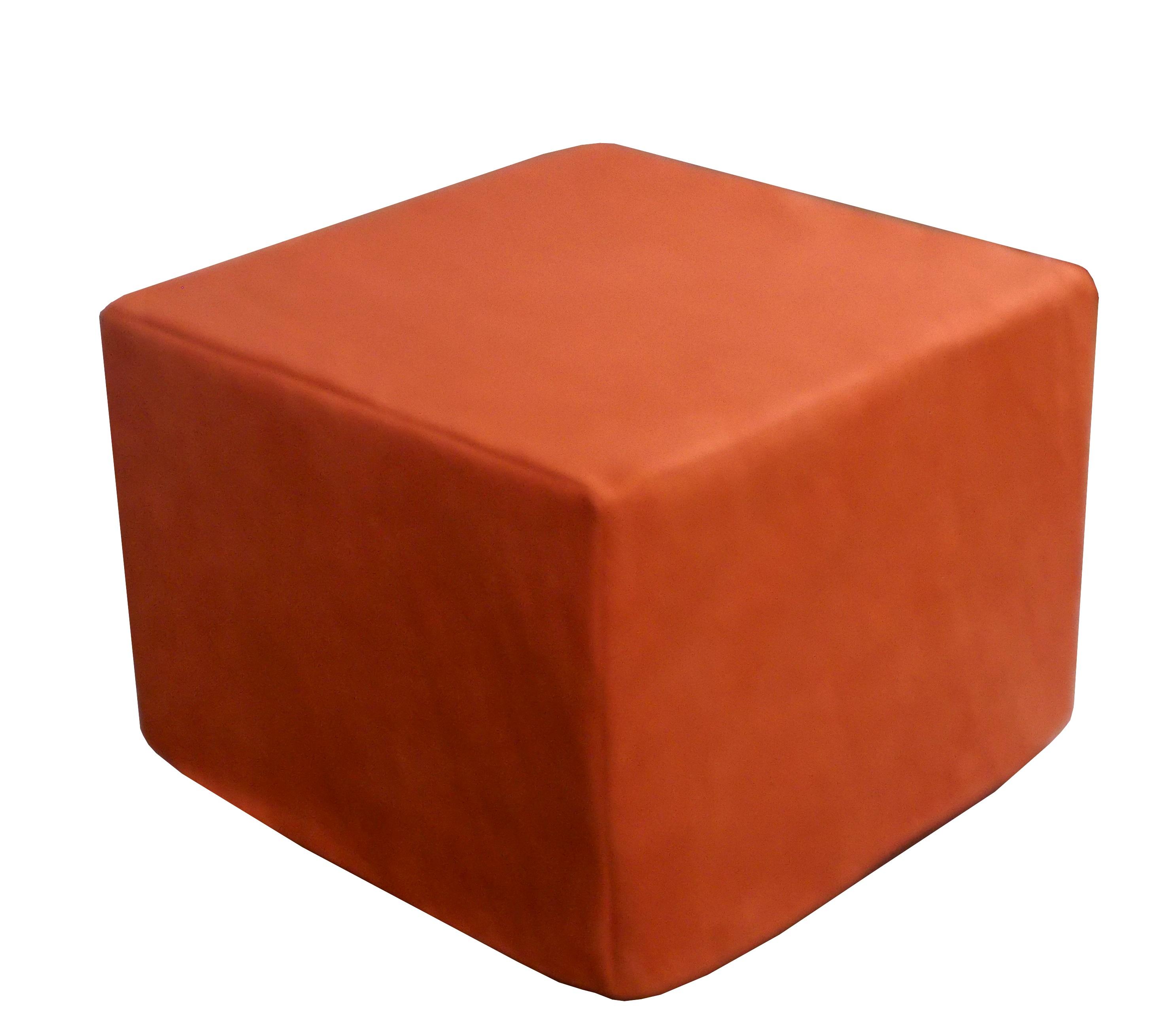 Puf pouf letto futon senza rete misura 65x65 cm aperto - Pouf letto design ...