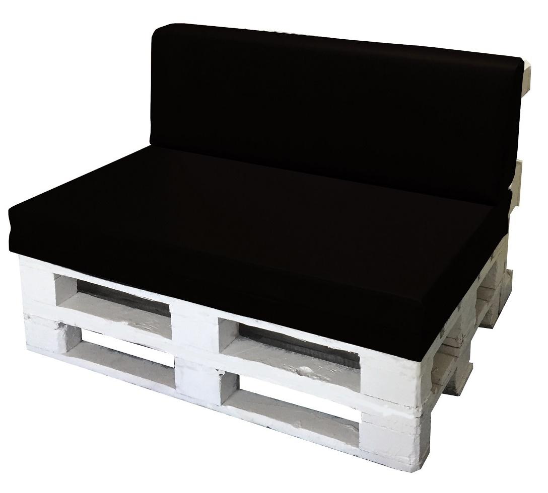 40X120 Misure EUR EPAL Pallet Schienale 80X120 Panna Cuscino per BANCALE Unito Seduta