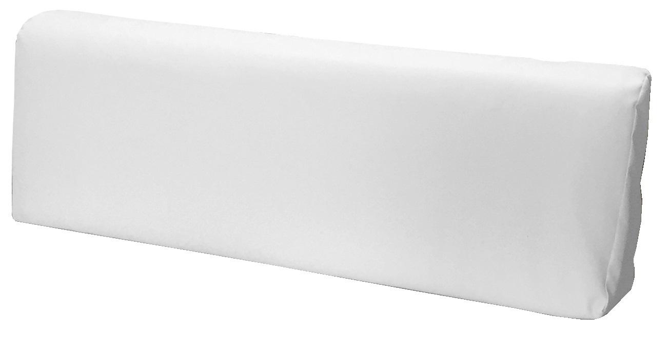 Cuscino per bancale misura 40x120 schienale divano pallet ecopelle bianco ebay - Cuscino per divano ...