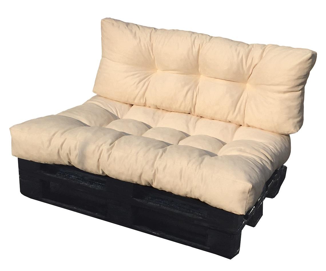 Cuscino per bancale seduta e schienale divano pallet in - Cuscino per divano ...