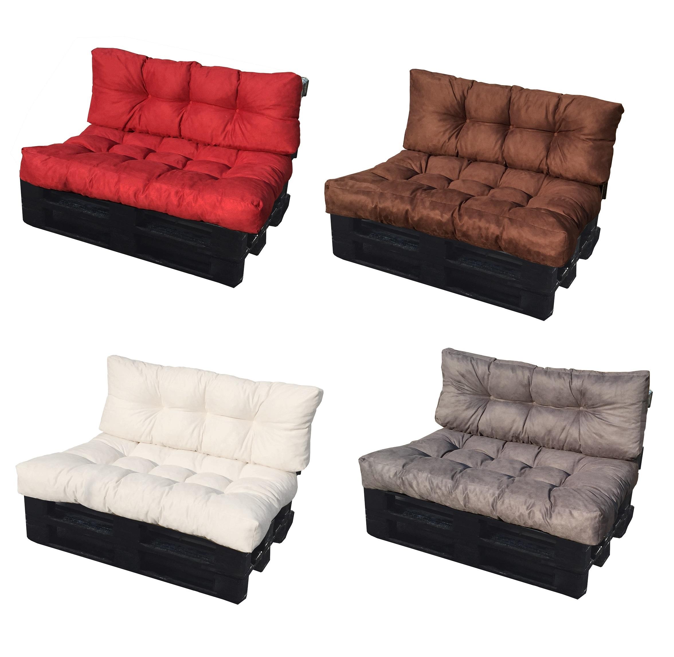 Cuscini Da Seduta Per Divani.Cuscino Per Bancale Cuscino Divano Pallet Di Legno Misure